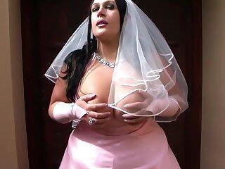 Be passed in the sky Bosomy Bride - Destructive Conjugal Blowjob Handjob - Cum in the sky my Tits