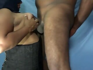 Bhabhi With Mask Tits Fucked