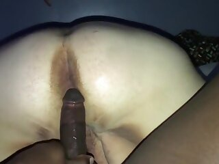 BBW thither Huge BBC with First stage Anal increased by Amazon Position