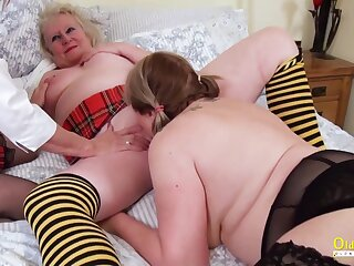 OldNannY British Of age Ladies Pussy Treatment