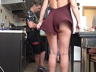 Rapturous Skirt Serenade, minutes of only slightly panties upskirts - 4K