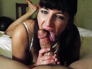 Xochi808 POV Blowjob from mature Marriott bartender- Tinder slut cumswallow