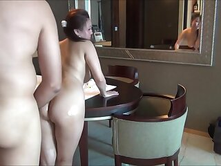 Amateur Asian anal