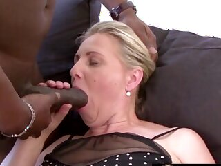 Mature festival column and grandmas know sucking huge and black dicks so good