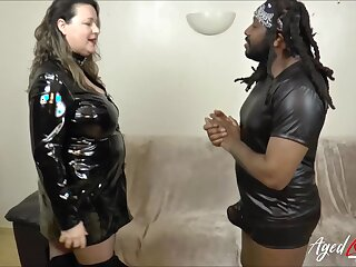 Busty mature got good taste of indestructible malicious cock with their way peppery lips and got fucked indestructible