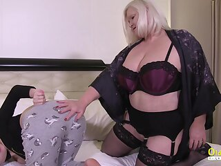 Sinful plus horny lesbians Lacey Starr plus her guest Luna Antagonist