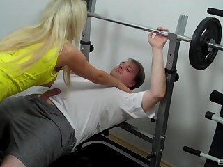 Hardcore pussy fucking in the air a cock hungry pornstar Lina Lonatelo