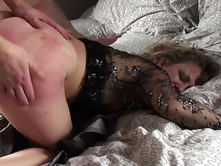 Mature loads her aggravation and pussy with young nephew's dick
