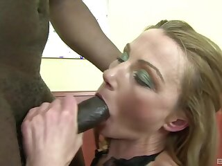 Untrained milf gets a black plan b mask to finish her cunt