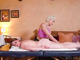 Uncultivated dolls share their lust via a massage tryout