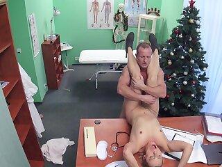 Marvelous hidden cam scenes nigh one slutty patient