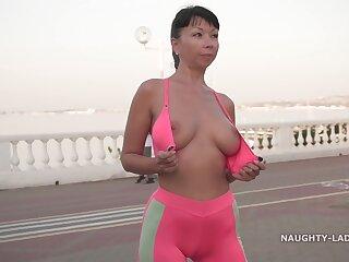 Naughty Russian MILF Stunt man 08
