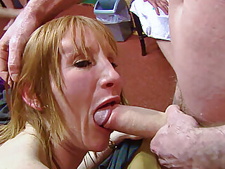 Older British redhead getting nailed