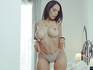 Busty Latina MILF works a dick like she is possessed and she's so sexy
