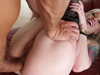 Duo hot babes are beast assfucked by big-dicked dudes