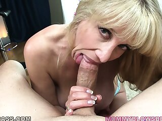This MILF can certainly impress guys homelessness a proper blowjob