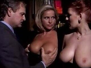 Milf Couple Parcelling Bosomy Redhead Lady
